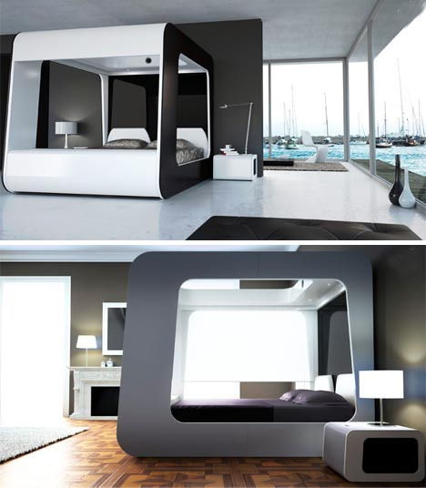 luxury-multimedia-tv-bed-design