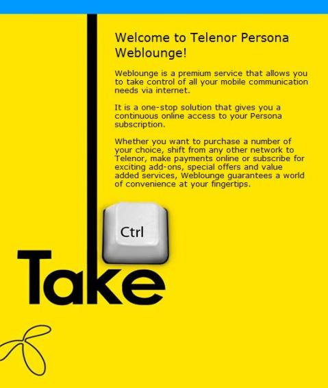 Telenor's WEBlounge
