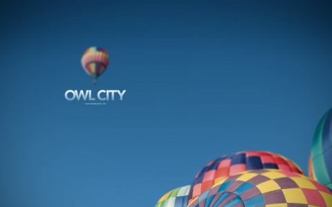 Owl City - Hot Air Balloon